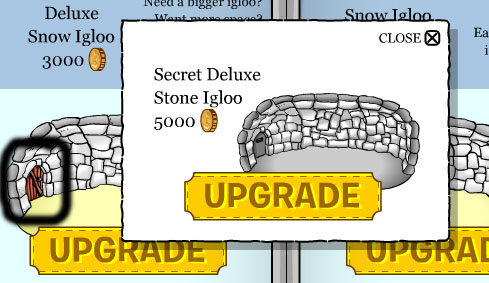 Club Penguin April 2010 Igloo Upgrades Cheats - Club Penguin