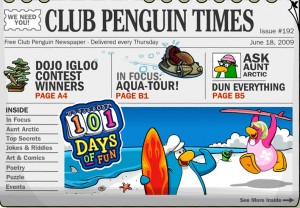 Club Penguin Times Issue 192