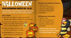 Halloween Igloo Contest