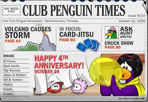 Club Penguin Times Issue 210