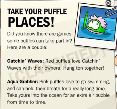 Puffle Secrets