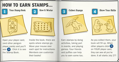 Stamps How to Page