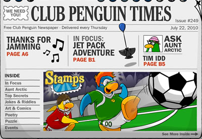 Club Penguin Times Issue 249