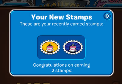 Starting Stamps