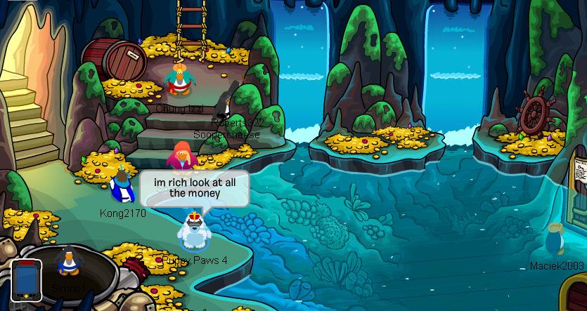 Money in Cave