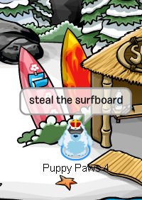Stealing the Surfboard