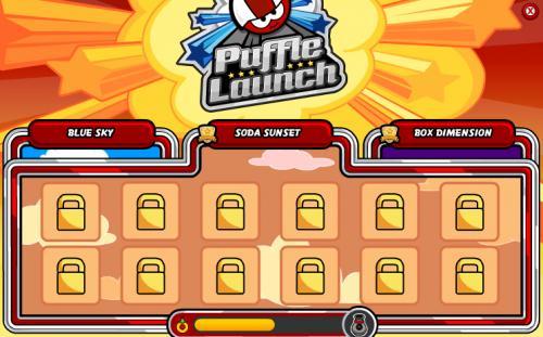 club penguin puffle launch