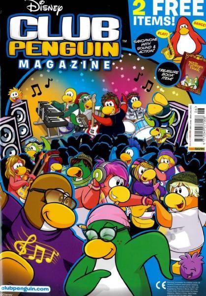 Imagen de nuevo club penguin magazine en tiendas