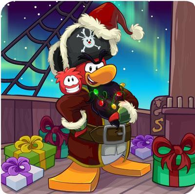club penguin meet rockhopper december 2012