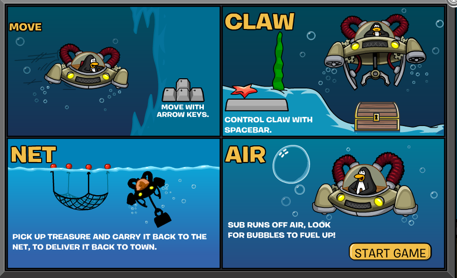 how to catch the big fish in club penguin