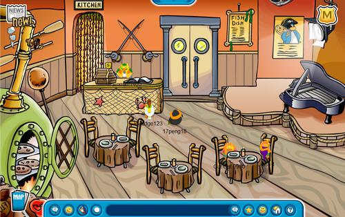 Club Penguin Blog – YOU DECIDE: Pizza Parlor Decorations for 10 Year